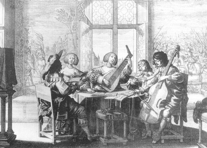 Ein Barockensemble